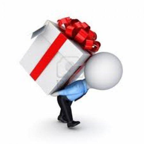 Подарки на презентации товара